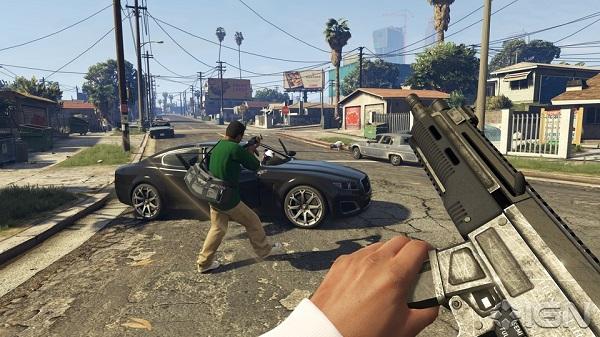 GTA 5  – Découvrez le mode FPS de Grand Theft Auto V ! (vidéo)