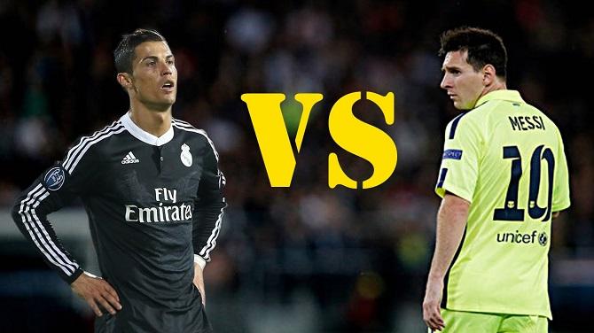 Cristiano Ronaldo vs Lionel Messi 2014/2015 (vidéo)