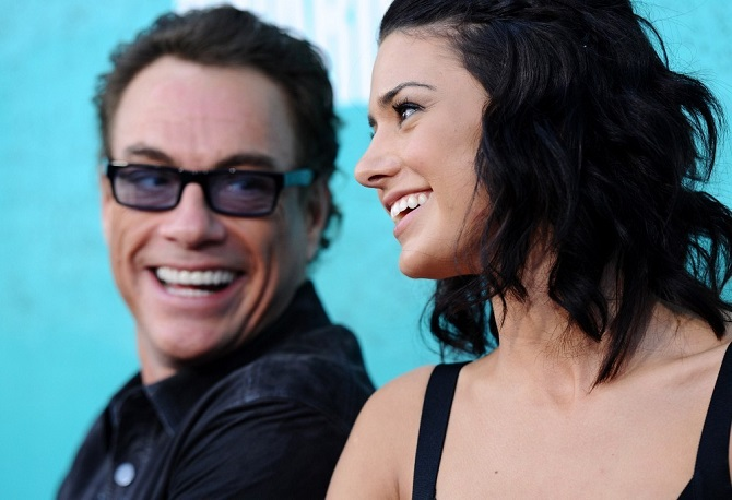 Jean Claude Van Damme et sa fille Bianca Bree
