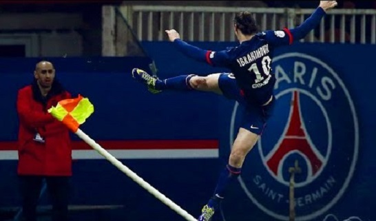 Zlatan Ibrahimovic – The Taekwondo Footballer (vidéo)