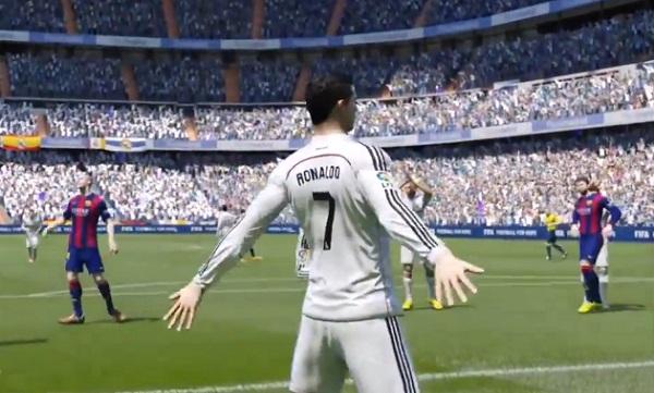 Regardez ce magnifique but inscrit dans FIFA 15 (vidéo)