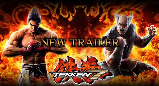 Tekken 7 : une nouvelle vidéo de gameplay dévoilée (trailer)