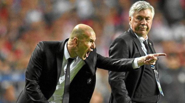 Le onze de rêve de Zinedine Zidane