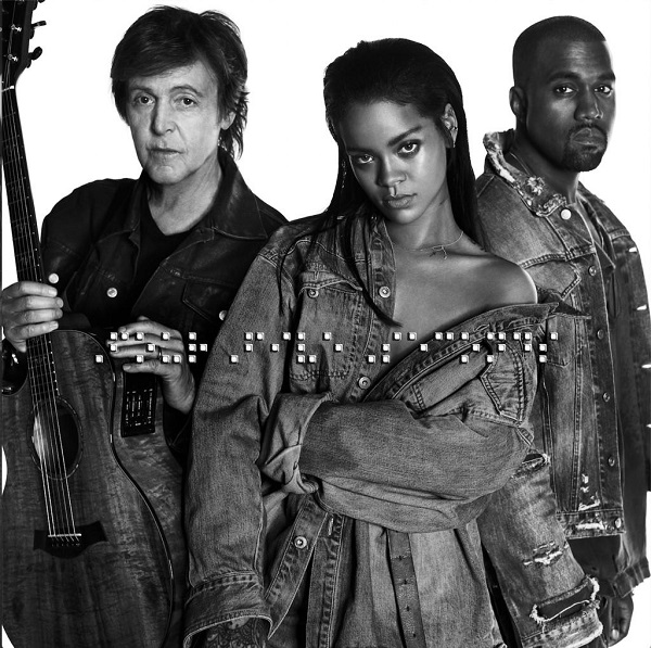 Rihanna dévoile le clip de « Four Five Seconds » avec Paul McCartney et Kanye West (clip)