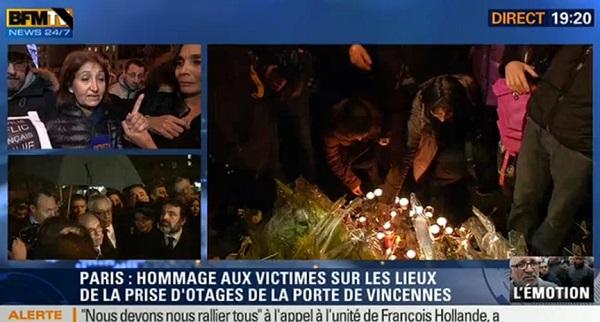 Charlie Hebdo : La femme d'un otage accuse BFMTV d'avoir donné trop d'informations (vidéo)