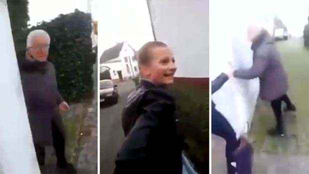 Des adolescentes frappent une mamie : la vidéo qui choque internet