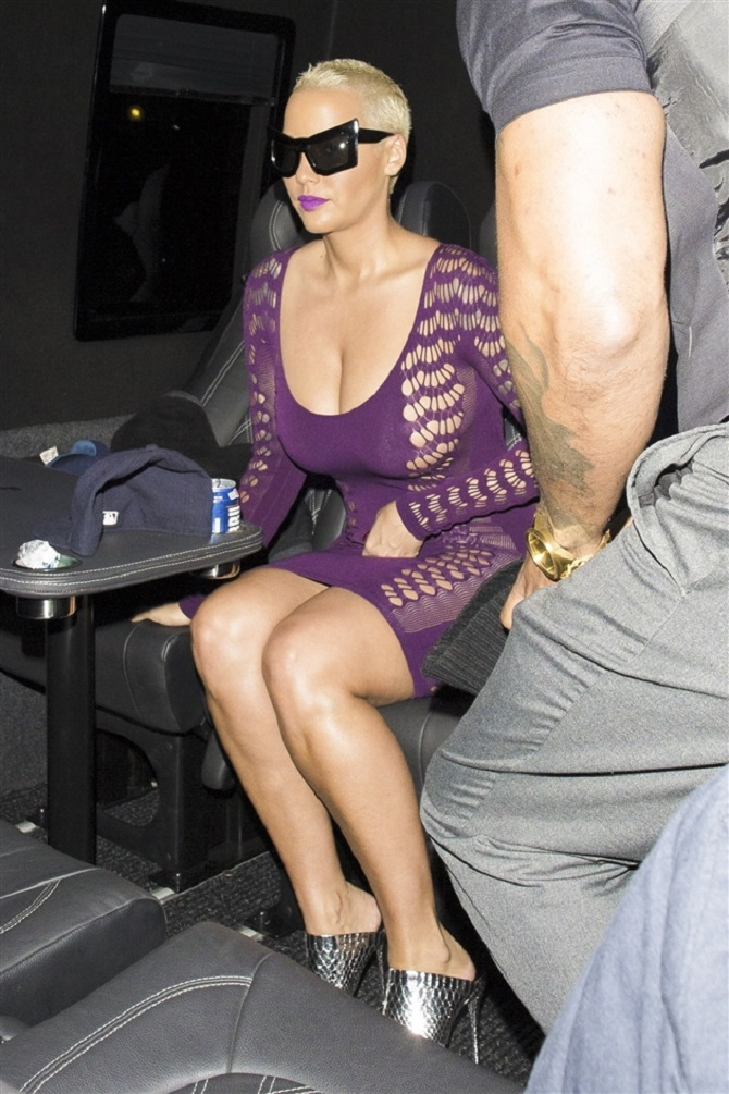 Amber Rose sheer dress (11)