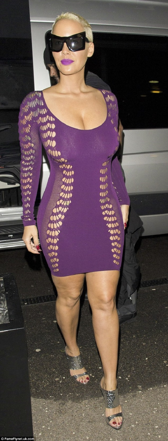 Amber Rose sheer dress (3)