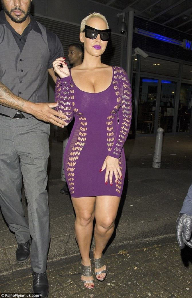 Amber Rose sheer dress (4)