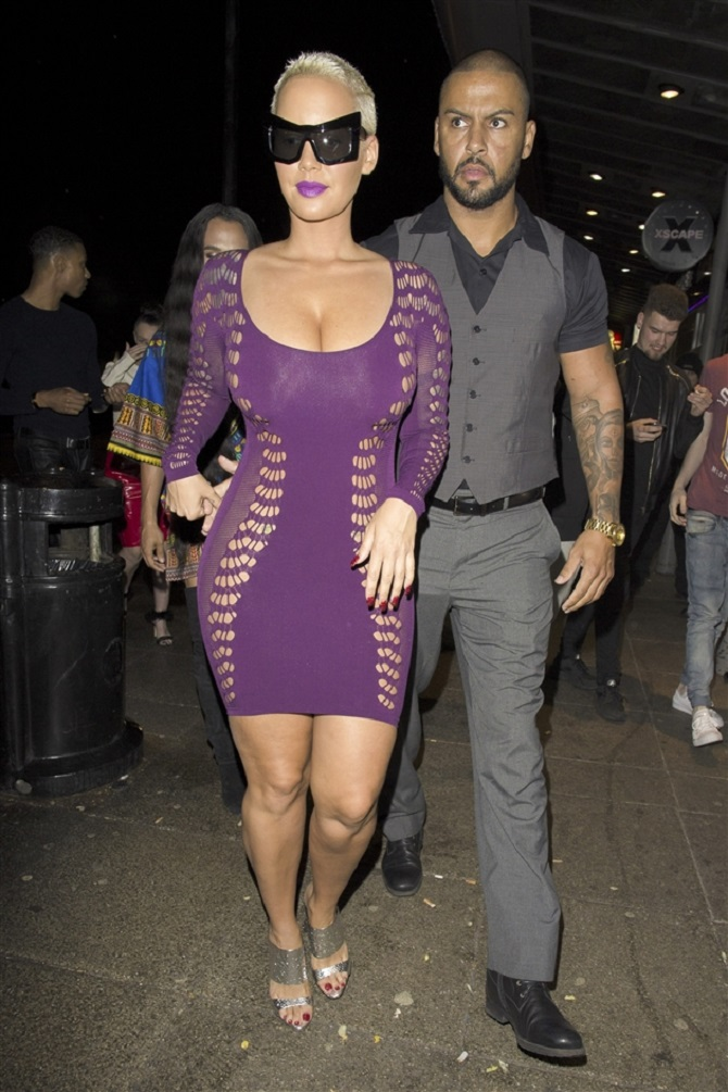Amber Rose sheer dress (6)