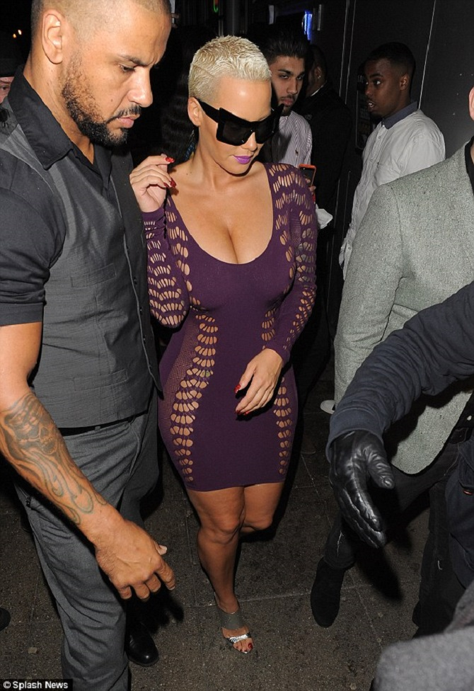 Amber Rose sheer dress (9)