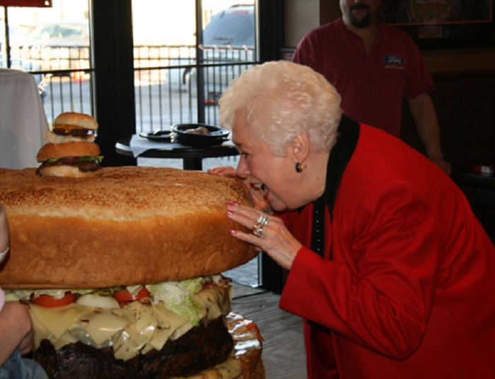 Enorme burger