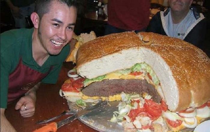 Plus gros burger monde (2)