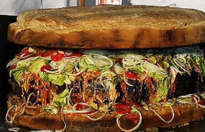 Plus gros burger monde