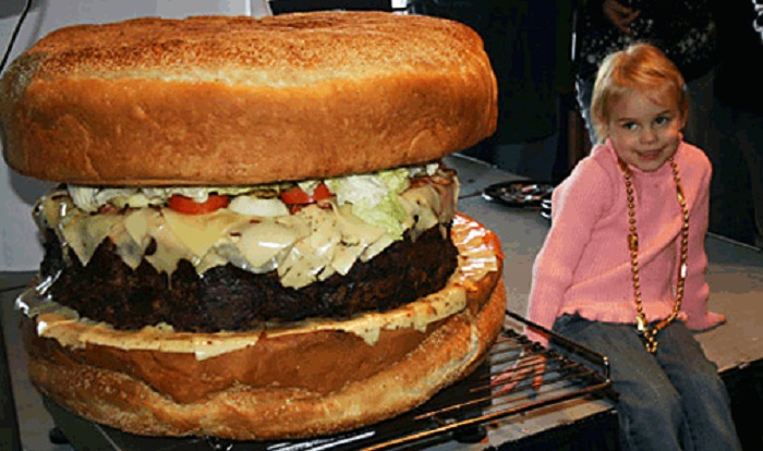 Plus gros sandwich monde