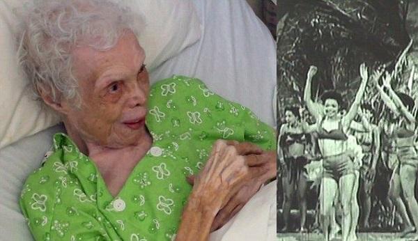 Émouvant – Une femme de 102 ans se voit danser en vidéo pour la première fois
