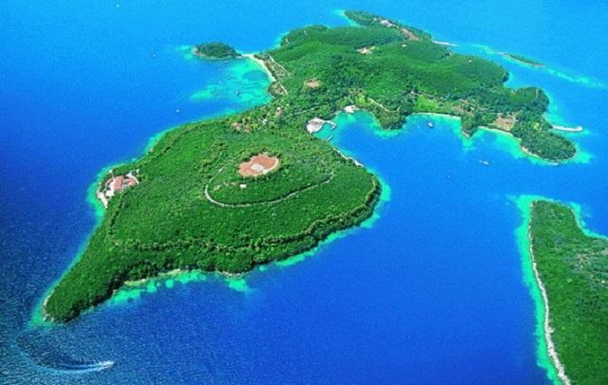 île privée grecque