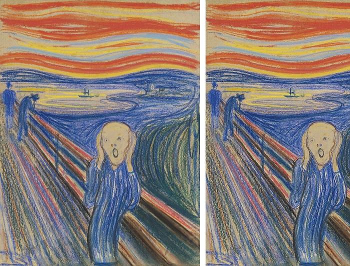 1.67 Le Cri, d'Edvard Munch