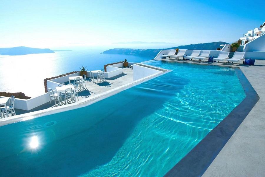 10.  Katikies Hotel, Greece
