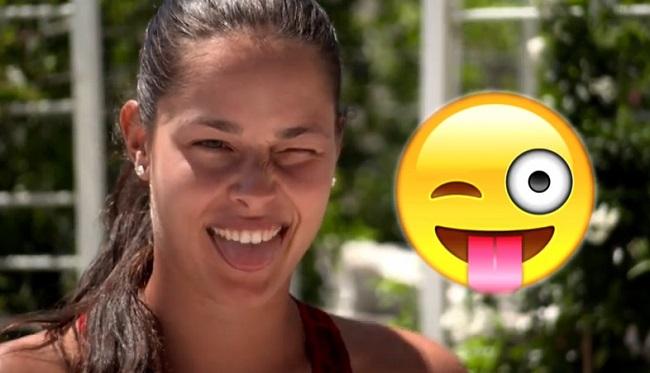 Quand les stars du tennis féminin imitent les smileys !