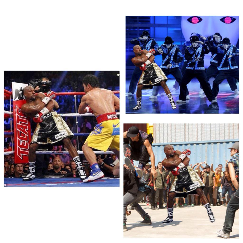 Mayweather VS Pacquiao Fight 3