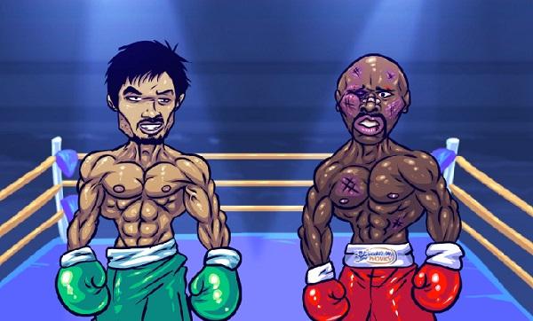 Les internautes se moquent de la victoire de Floyd Mayweather à face à Manny Pacquiao