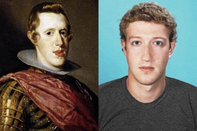 Roi Philippe IV d'Espagne - Mark Zuckerberg