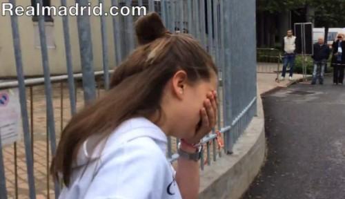 Une fan de Ronaldo sous le choc après sa rencontre avec la star