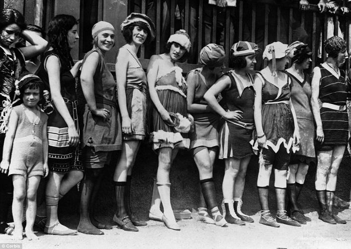 maillot de bain 1920