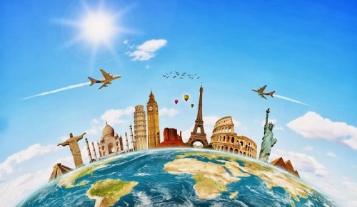 Le tourisme en temps réel (infographie)