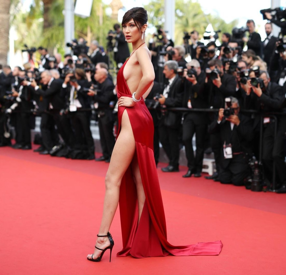 bella hadid red dress cannes 2016 (16)