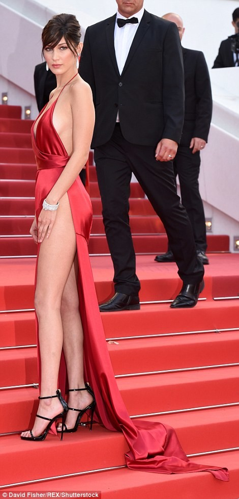 bella hadid red dress cannes 2016 (4)