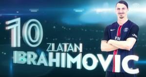 PSG : Zlatan Ibrahimovic 2012/2016