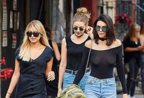 Kendall Jenner : son haut transparent qui montre tout ! (photos)