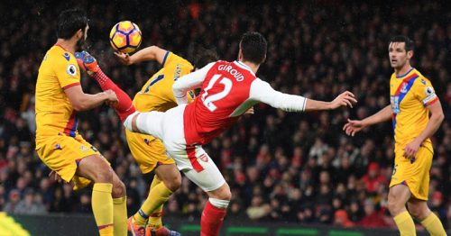Arsenal – L'incroyable but d'Olivier Giroud (vidéo)