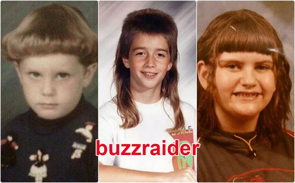 Les pires coupes de cheveux d'enfants des années 80/90 (photos)
