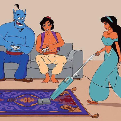 Si les personnages de Disney avaient été créés en 2017 !