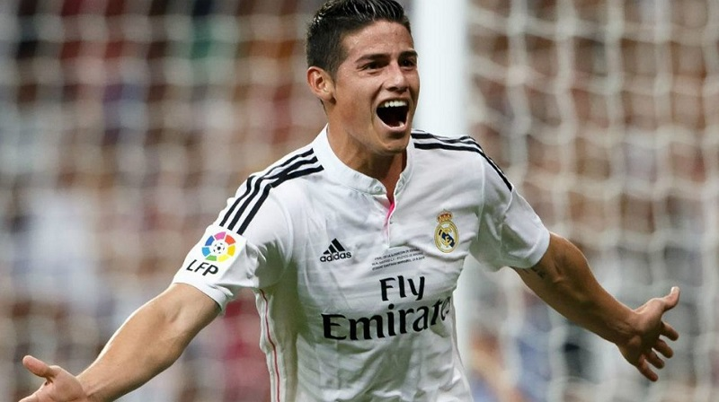 james rodriguez real