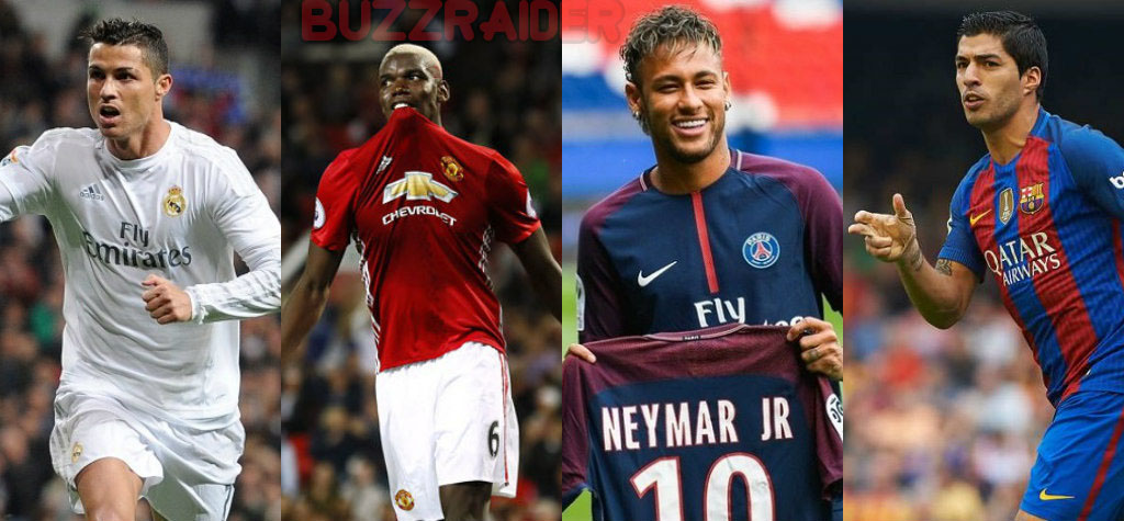 Top 20 des transferts les plus chers de l'histoire du football