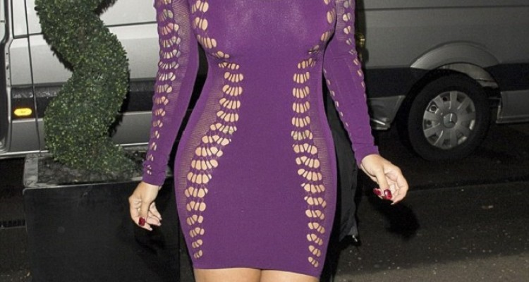 Amber Rose sheer dress (1)