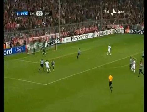 Ribery s'amuse face à la défense de la Juventus (VIDEO)