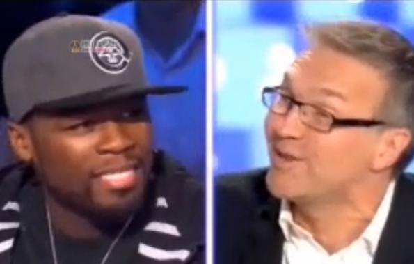 50 Cent chez Laurent Ruquier le 28/11/2009 (VIDEO)