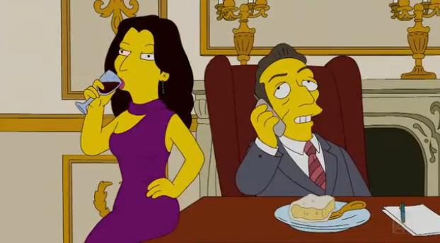 Nicolas et Carla Sarkozy, guest stars chez les Simpsons (VIDEO)