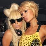 Lady GaGa clash Paris Hilton