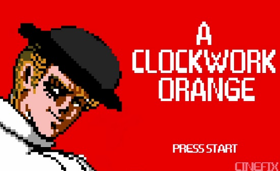 Ciné : Orange Mécanique version 8 bits (VIDEO)