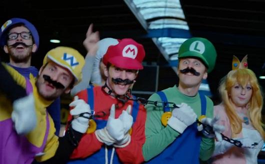 Norman : Luigi clash Mario (VIDEO)
