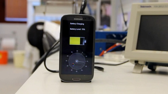 Recharger son smartphone en 30 secondes, c'est pour bientôt (VIDEO)