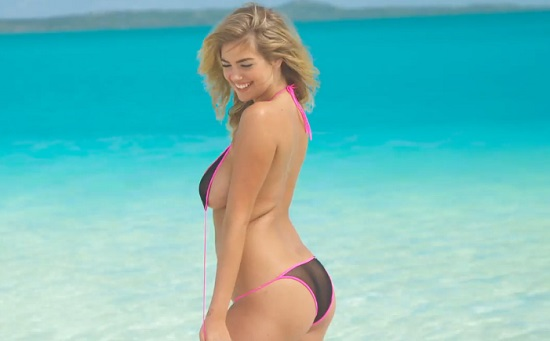 Kate Upton sexy pour Sports Illustrated (VIDEO)