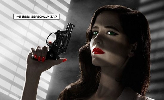 Sin City 2 : Les seins d'Eva Green censurés aux USA (IMAGE)