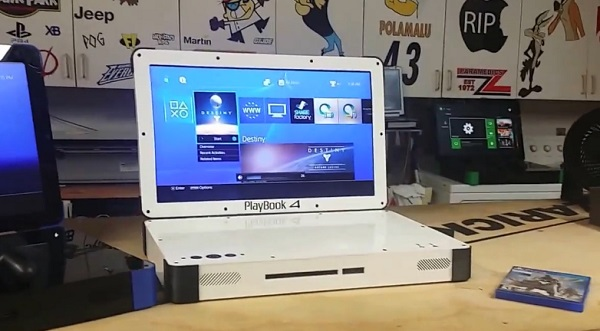 Une PS4 «portable», ça vous dit ? (vidéo)